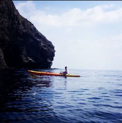 Antonio en Kayak