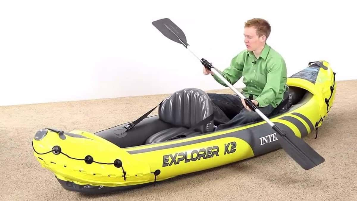 Intex Explorer K2 Kayak a fondo   Kayak Hinchable   Kayak Hinchable